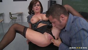 Danny Lots and his passionate teacher Veronica Avluv