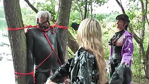 Group kinky fuck in the forest is amazing experience for Carmen Rivera