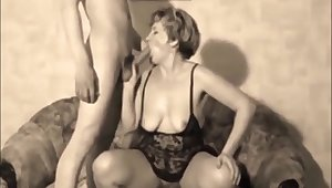 Retro Look at one's disposal a Wife Being Shared with Strangers homemade